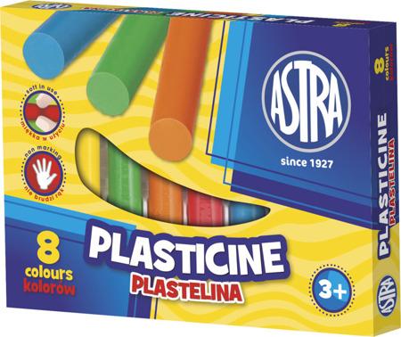 Plastelina 8 kolorów Astra